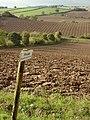 Farmland above Woodborough - geograph.org.uk - 1013595.jpg