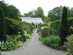 Farmleigh - Part of the estate gardens