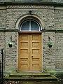 Farnhill Methodist Church, Doorway - geograph.org.uk - 880719.jpg