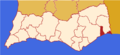 Faro district map Portugal VRS.png