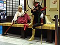 Fate Gudaguda Honnoji cosplayers of Okita Sōji and Oda Nobunaga 20170813a.jpg