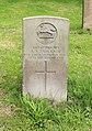 Faulkner (Alfred A.) CWGC gravestone, Flaybrick Memorial Gardens.jpg