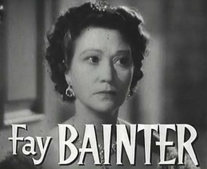 Fay Bainter - in Jezebel (1938)