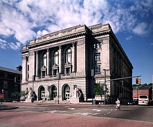 Federal Building (Providence, Rhode Island) - Federal Building and U.S. Courthouse, September 2003