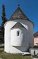 Feldkirchen Kirchgasse Friedhof romanischer Rundkarner 28032015 1186.jpg