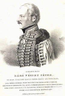 Peter von Vécsey Austrian-Hungarian general