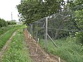 Fence around wooded pit - geograph.org.uk - 450014.jpg