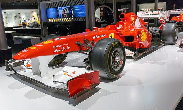 Ferrari 150° Italia front-left 2017 Museo Fernando Alonso