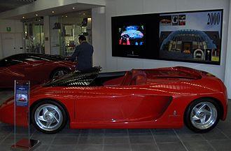 Ferrari Mythos - Image: Ferrari Mythos Side