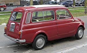 Fiat 500 - Fiat 500 Giardiniera