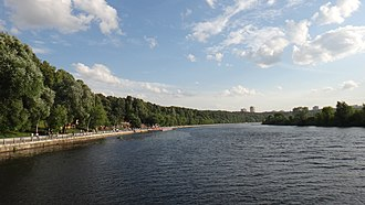 Filyovsky Park District - Promenade on Moscow River, Filyovsky Park District