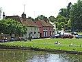 Finchingfield Village, Essex, with village pond - geograph.org.uk - 307913.jpg