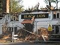 Fire Damaged Black Lion Public House - geograph.org.uk - 1268675.jpg