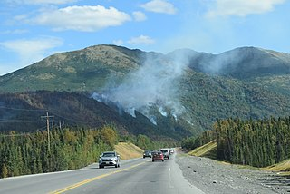 Swan Lake Fire 2019 wildfire in the American state of Alaska