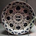 Firenze, piatto con alberelli e stemma, 1450 ca..JPG