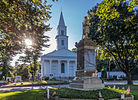 Congregational Church and Civil War Memorial