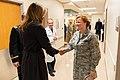 First Lady Melania Trump Visits Walter Reed National Medical Center (47926528502).jpg