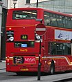 First London bus, Cockspur Street, route 23, 9 December 2005.jpg