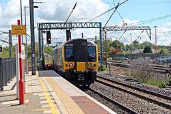First TransPennine Express Class 350, 350402, Lancaster railway station (geograph 4499802).jpg
