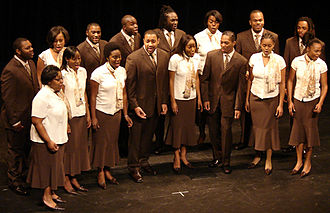 Fisk Jubilee Singers - The Fisk Jubilee Singers' performance at the Dixie Carter Performing Arts and Academic Enrichment Center in Huntingdon, Tennessee in 2008.
