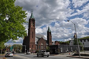 Calvinistic Congregational Church - Image: Fitchburg MA Faith United Parish Church