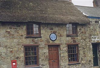 Bob Fitzsimmons - The birthplace of Bob Fitzsimmons in Helston, Cornwall