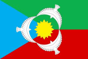 Aksubayevsky District - Flag of Aksubayevsky Municipal District