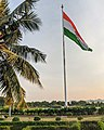 Flag of India at Sanjeevaiah Park.jpg