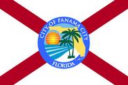 Flag of Panama City, Florida