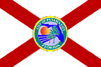 Panama City, Florida - Image: Flag of Panama City, Florida