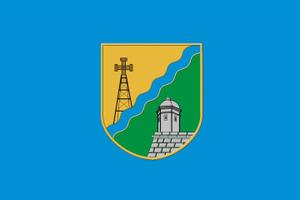 Buzhok - Image: Flag of Zolochiv raion (Lviv oblast)