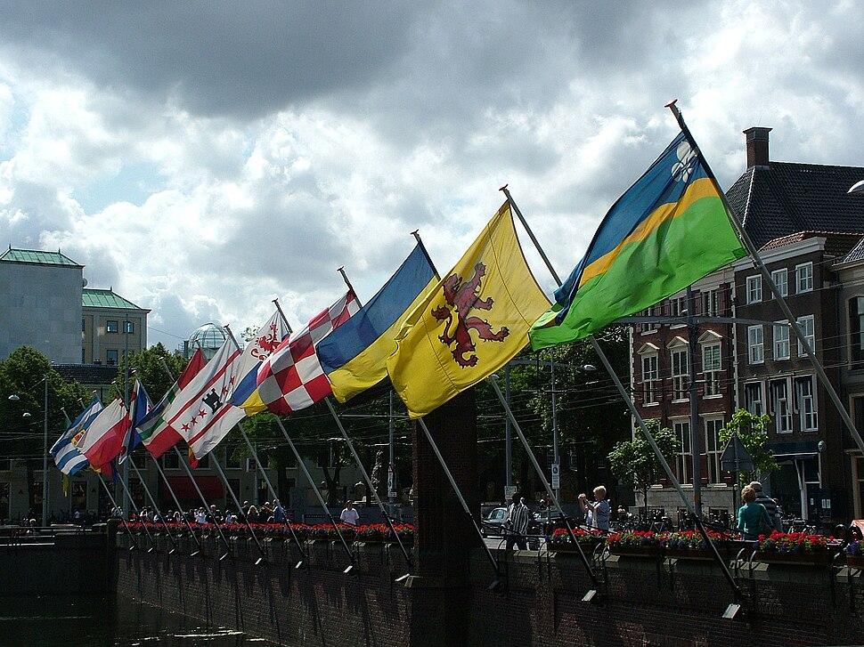 Flags of Dutch Provinces The Hague