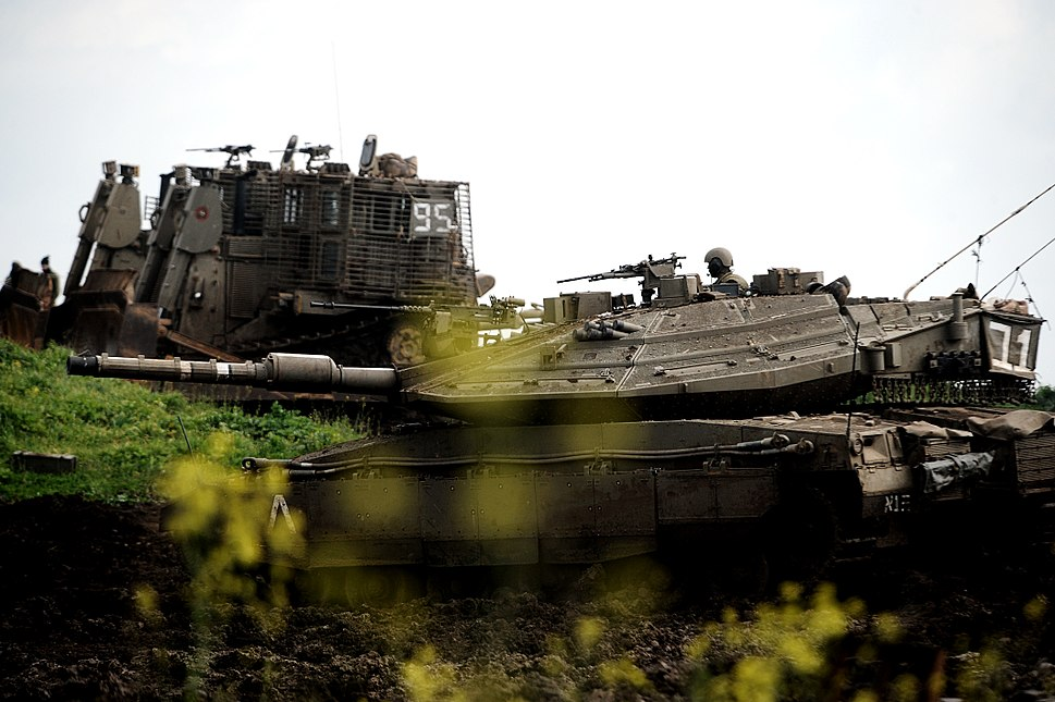 Flickr - Israel Defense Forces - 401st Brigade Training at Golan Heights, Feb 2010
