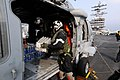 Flickr - Official U.S. Navy Imagery - Sailors load supplies onto Sea Hawk aboard USS Ronald Reagan..jpg