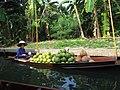 Floating Vegetable Market Sai Noi Demnoen Saduak Floating Market Thailand - panoramio.jpg