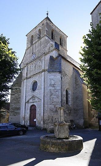 Floirac, Lot - Image: Floirac 46 Église Saint Georges 03