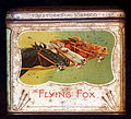 Flying Fox sigarettes tin, front.JPG