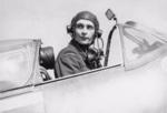 Flying Officer Bolesław Henryk Drobiński of No. 303 Polish Fighter Squadron in the cockpit of his Spitfire.png