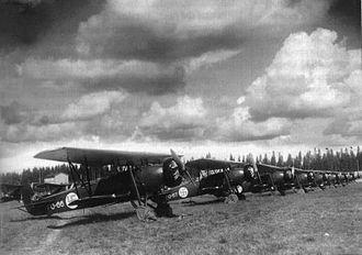 Fokker C.V - Finnish Fokker C.V-E's