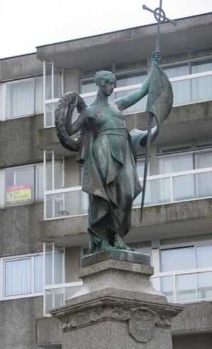 Ferdinand Victor Blundstone - The Folkestone War Memorial
