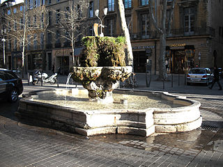 Fontaine des Neuf Canons
