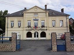 Fontaines-lès-Clercs (Aisne) mairie.JPG