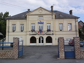 The town hall of Fontaines-lès-Clercs