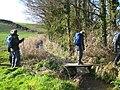 Footbridge over the stream - geograph.org.uk - 1701494.jpg