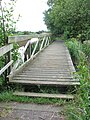 Footbridge over watercourse - geograph.org.uk - 1363004.jpg