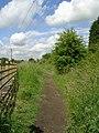 Footpath - Red Lane - geograph.org.uk - 1356231.jpg