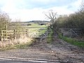 Footpath from Fosse Way to Lighthorne - geograph.org.uk - 1711733.jpg
