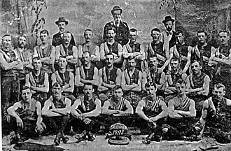 Western Bulldogs - The team that won the first premiership for the club in 1898
