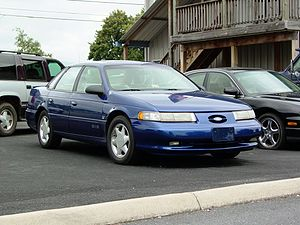 Ford Taurus SHO - Image: Ford Taurus SHO (second gen)