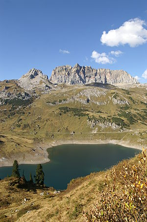 Formarinsee - Image: Formarinsee Rote Wand